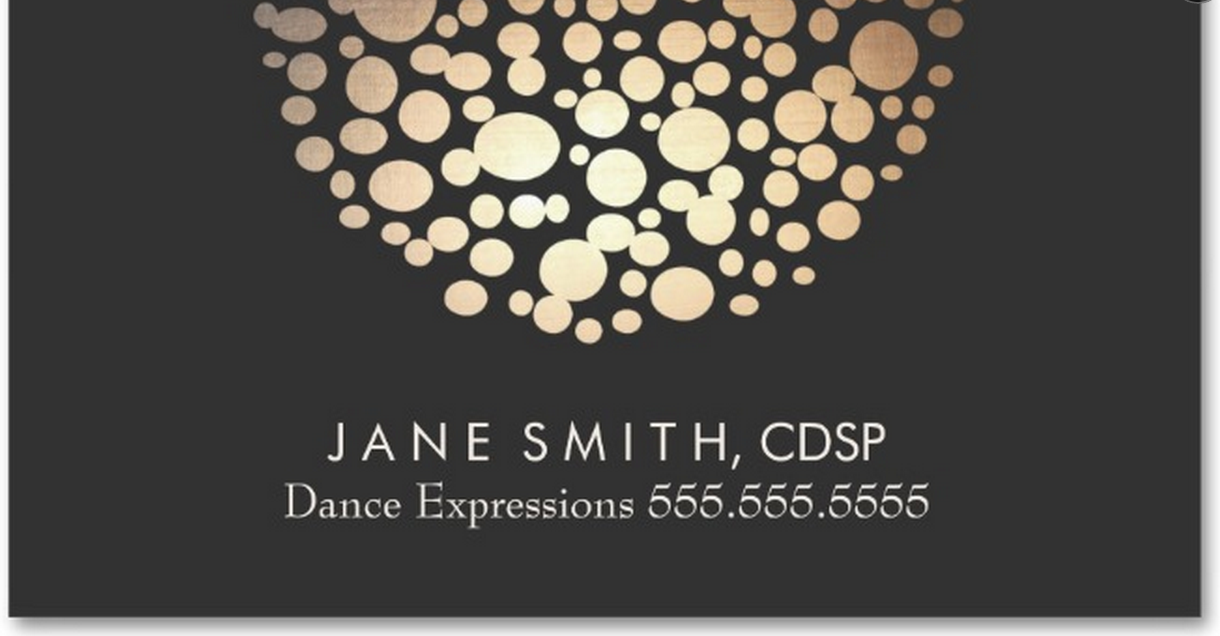Certified dance studio professional dance studio pro dance studio business card colourmoves