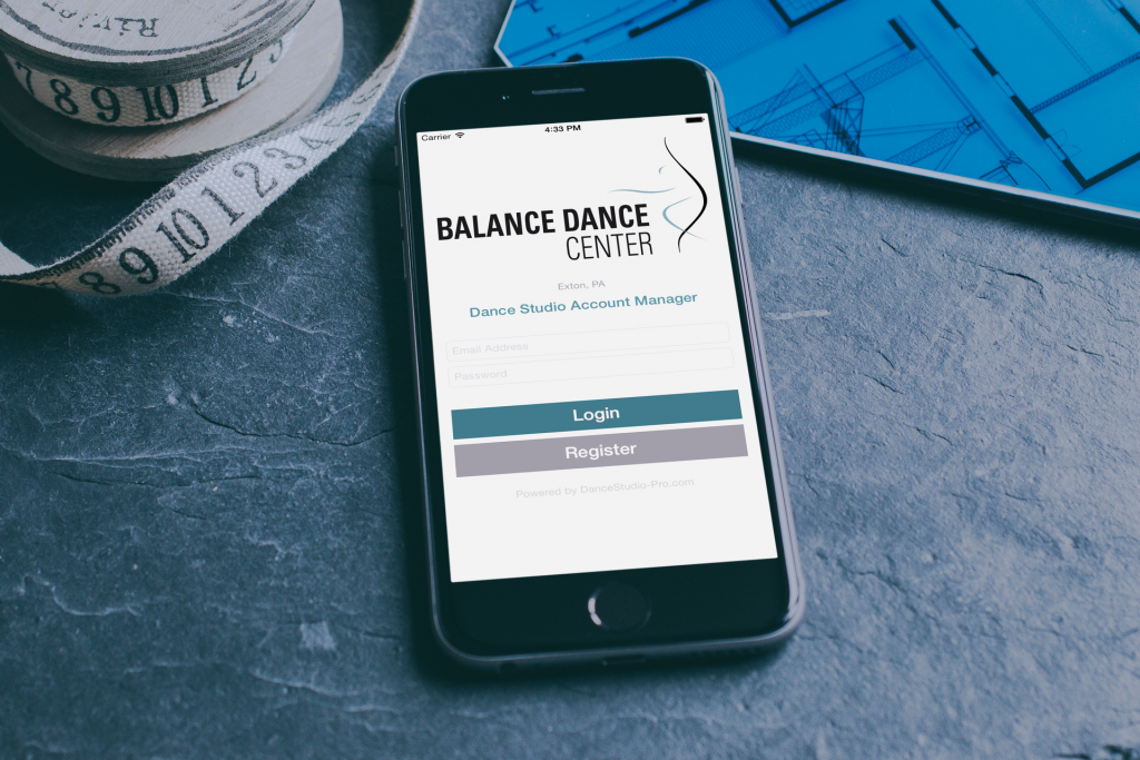 Dance Studio Custom Apps